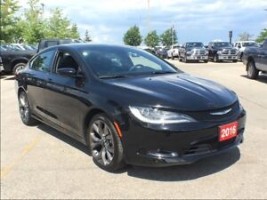 2016 Chrysler 200 S**PANORAMIC SUNROOF**REMOTE START**