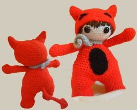 Handmade Crochet Little Devil Amigurumi