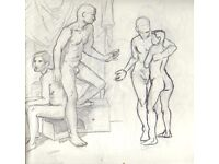 Couple available for life drawing