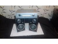 Stereo amplifier+Speakers