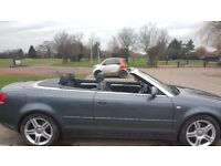Audi A4 sport fsi convertible .Great condition Low mileage 60000 miles ,not bmw or ford.