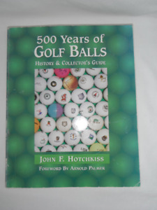 500 Years of Golf Balls: History and Collector's Guide