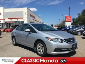 2015 Honda Civic Sedan LX | BLUETOOTH | REAR CAM | ECON | AUX |