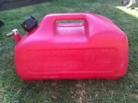 outboard fuel tank 22.7 litres