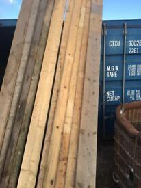 Scaffold boards Grade A Reclaimed and dried