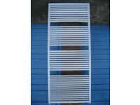 Myson white towel radiator - suitable for bathroom or shower rooms