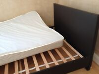 Double Bed with Mattress - fair condition - £25