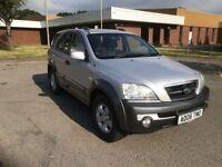 2006 Kia Sorento 2.5 Crdi 4x4 12 months mot/3 months parts and labour warranty
