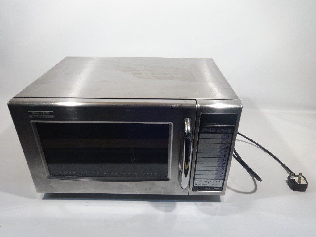 Sharp Commercial Microwave Oven 1000 Watts R21ATP | in Ilford, London |  Gumtree
