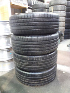 255/55R18 Michelin 2 85% USED TIRES  WE HAVE MORE USED below