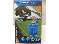 BNIB CAMPINGAZ BLEUET MICRO PLUS 1300w CAMPING HIKING CYCLING GAS COOKER < 1/2 PRICE