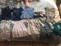 Girls 9-12 months outfits bundle