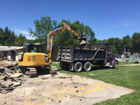 Excavation and hauling services - great rates