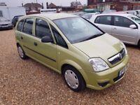 Vauxhall Meriva 1.6 i 16v Life MPV, 1 LADY OWNER FROM NEW. FSH. HPI CLEAR. 1 YEAR MOT. 2 KEYS.