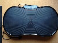 Portable Vibrating Plate, great condition, hardly used