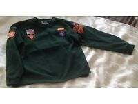 Complete Cubs Uniform Age 6/7, Trousers, Top and Sweater