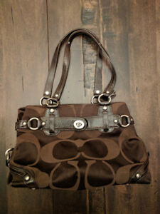 Authentic Chocolate Brown Coach Purse