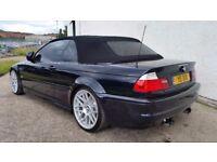 2002 BMW M3 SMG CONVERTIBLE CARBON BLACK 100,000 MILES HUGH SPEC STUNNING RARE EXAMPLE