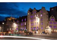 Receptionist - Stay Central & Grassmarket Hotel