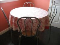 Breakfast Kitchen Dining Table Chairs