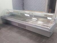 Ex Sainsbury 3.75m Butchery / Meat Display Counters