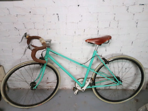 Women's Custom bike  (with Brooks leather saddle)