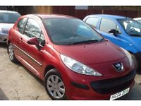 peugeot 207 hdi s 2006 registration, 1.6 turbo diesel , covered only 100,000 miles,