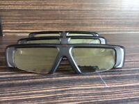Three Samsung 3D active glasses