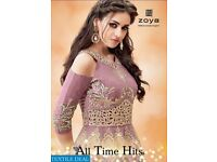 ZOYA ALL TIME HITS WHOLESALE PARTY-WEAR DESIGNER SALWAR SUITS