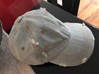 Hat jeans blu