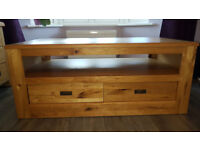 SOLID OAK COFFEE TABLE/ TV TABLE FROM NEXT