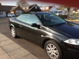 2008 Renault Megane 1.6 convertible LOW MILEAGE