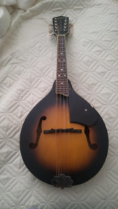 Gretsch Mandolin and Hardshell Case