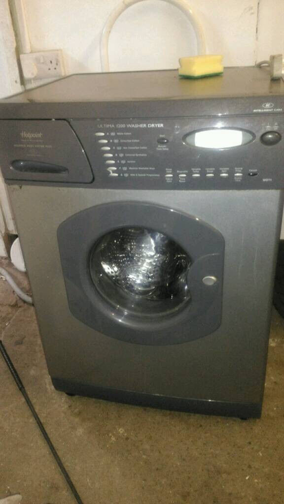 Hotpoint ultima washer dryer