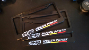 MUGEN POWER license plate frame(s)