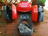 Vfr800 vtec honda luggage kit