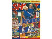 20 Shoot Football Magazines 1997-1998 / VGC