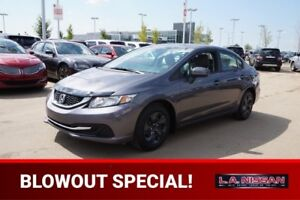 2014 Honda Civic Sedan LX AUTOMATIC Accident Free,  Heated Seats