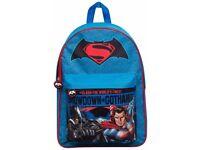 Batman vs Superman Backpack Rucksack Travel Junior Kids Work Nursery School Bag With Pocket