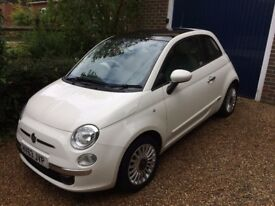 Fiat 500 1.2 Lounge - Full Fiat Service History - Very Low Mileage - VGC - 1 Previous Owner