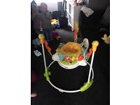 Baby jumperoo excellent condition