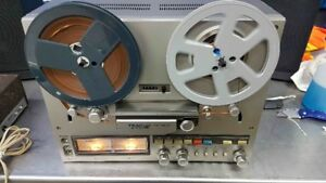TEAC X-300 REEL TO REEL TAPE DECK, RECORDER, 3 HEAD & 3 MOTORS