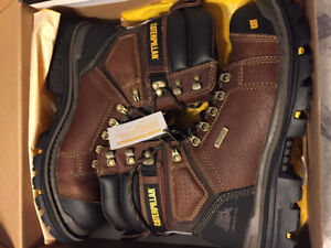 Brand new Cat work boots