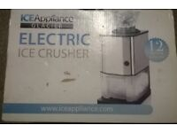 Brand new electric ice crusher