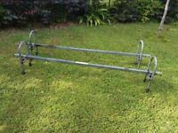 Heavy Duty Roof Bars for small van or estate car