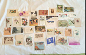 1908 to 1925 Vintage POSTCARDS & Antique HOLIDAY / EVENT Cards