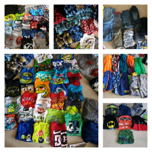Huge lot of clothes boys size 6-6x