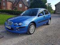 2003 '53' ROVER 25 - 1 LADY OWNER FROM - ONLY 58,200 MILES - FULL SERVICE HISTORY (12 STAMPS)