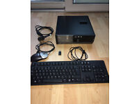 Dell Optiplex 390 SFF PC with 8GB RAM, big HDD, wireless card & Dell keyboard & mouse