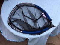 Landing net and weighing net
